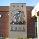 Primo Villalobos large sculpture for KDNA building- Granger, Washington